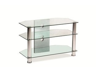 TV-laud TV031, läbipaistev klaas