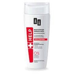 Puhatuspiim atoopilisele nahale AA Help Cleansing Milk 200 ml
