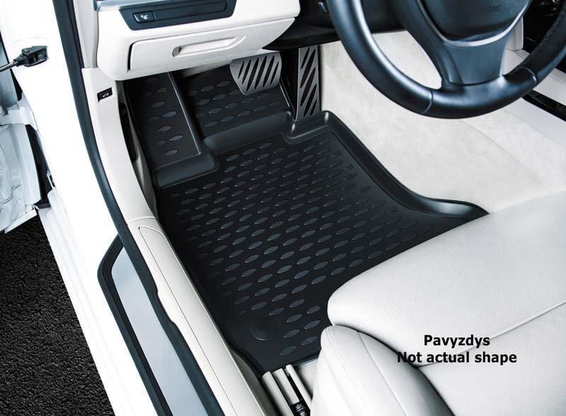 Kummimatid 3D VW Passat B8 2015->, sed., 4 pcs. /L65001