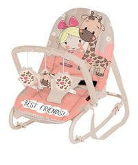 Imikute lamamistool Relax Best Friends Lorelli, Pink