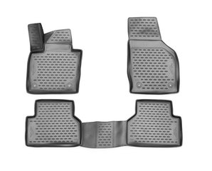 Kummimatid 3D AUDI Q3 2015->, AT, 4 pcs. /L03001G /gray