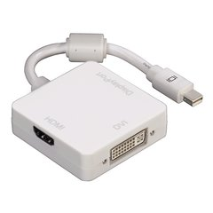 Adapter Hama 00053245 Mini DisplayPort - DVI, Displayport, HDMI
