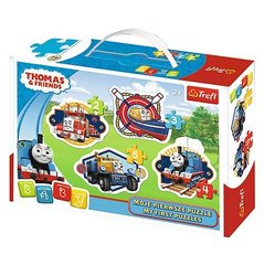 Pusle Trefl 4 in 1 Thomas & Friends, 14 detaili