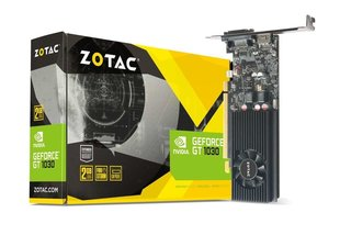 Videokaart ZOTAC GeForce® GT 1030 2GB GDDR5 HDMI/VGA Low Profile ZT-P10300E-10L