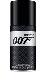 Spreideodorant James Bond 007 meestele 150 ml hind ja info | Spreideodorant James Bond 007 meestele 150 ml | kaup24.ee