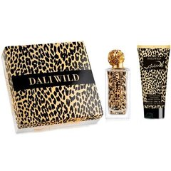 Komplekt Salvador Dali Dali Wild: EDT naistele 50 ml + kehalosjoon 100 ml