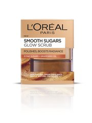 Helendav näokoorija suhkruga L'Oreal Paris Smooth Sugars 50 ml