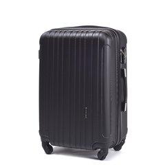 Keskmine kohver Wings 2011, 64 cm, must hind ja info | Kohvrid, reisikotid | kaup24.ee