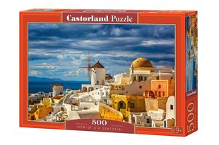 Puzzle Castorland View of Oia Santorini, 500 hind ja info | Pusled | kaup24.ee