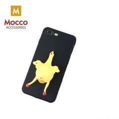 Mocco 4D silikoon silikoon tagus pehme kattega telefonile Samsung A320 Galaxy A3 (2017), must