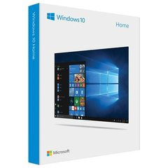 Microsoft Windows 10 Home KW9-00478, English, 32-bit/64-bit, Box, Regular licence, USB flash drive