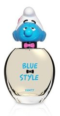 Tualettvesi The Smurfs Blue Style Vanity EDT poistele 100 ml