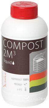 Vedelik komposti tootmiseks Primus K-0.5l VERTAS hind ja info | Mikroorganismid, bakterid | kaup24.ee