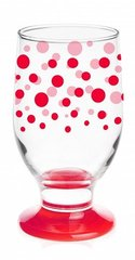 Pokaal Glasmark RED DOTS, 270 ml