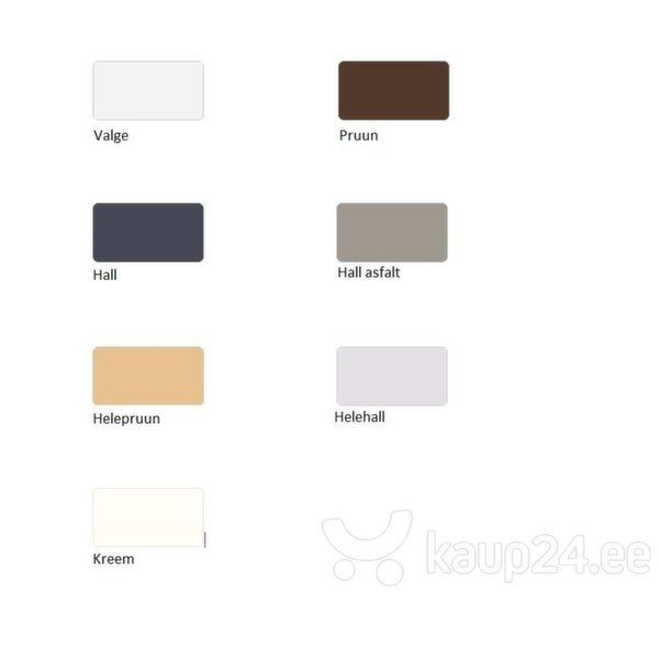 Dušialus Sanplast Space Mineral BPK-M/Space 100x100x1,5, mittelibiseva pinnaga, värv pruun tagasiside