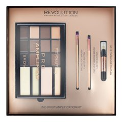 Kulmupaleti komplekt Makeup Revolution Pro Brow Amplification