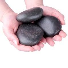 Basalt massaaži kivide kollektsioon inSPORTline 8-10 cm, 3 tk