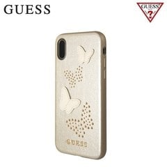 Guess Studs and Sparkle tagus telefonile Apple iPhone X / iPhone 10, liivakarva