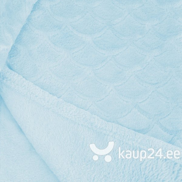 Mikrokiust pleed Decoking Sardi Light Blue, 220x240 cm Internetist
