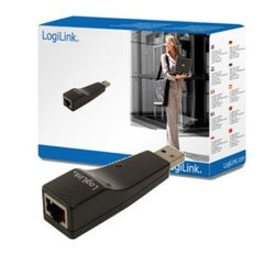 Ethernet to USB adapter LOGILINK UA0025C, USB 2.0
