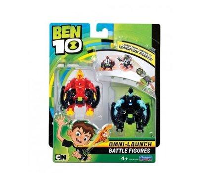 Фигурка Heatblast BEN10 + XLR, 2 шт., 76636