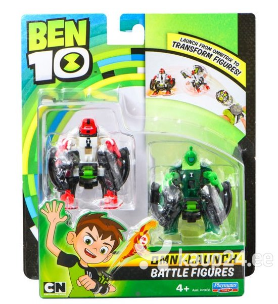 Фигурка Fourarms BEN10 + Wild Vine, 2 шт., 76637