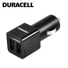 Autolaadija Duracell DR5035A, 2 x USB - 12V / 3.4A (1+2.4), must hind ja info | Autolaadija Duracell DR5035A, 2 x USB - 12V / 3.4A (1+2.4), must | kaup24.ee