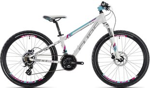 "Laste jalgratas Cube Kid 240 Disc girl white""n""aqua 2018"