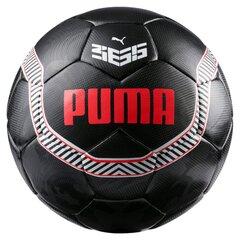 Футбольный мяч Puma Black-Flame Scarlet, 5 размер