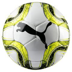 Jalgpalli pall Puma White-Lemon Tonic FINAL 5 HS, 5 suurust