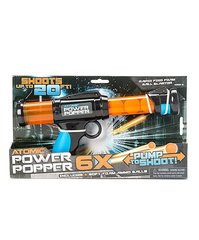 Mängupüstol Power Poppers Atomic 6X, 54001