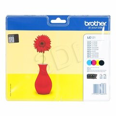 Brother - Multipack LC121VALBP CMYK do DCP-J132W hind ja info | Brother - Multipack LC121VALBP CMYK do DCP-J132W | kaup24.ee