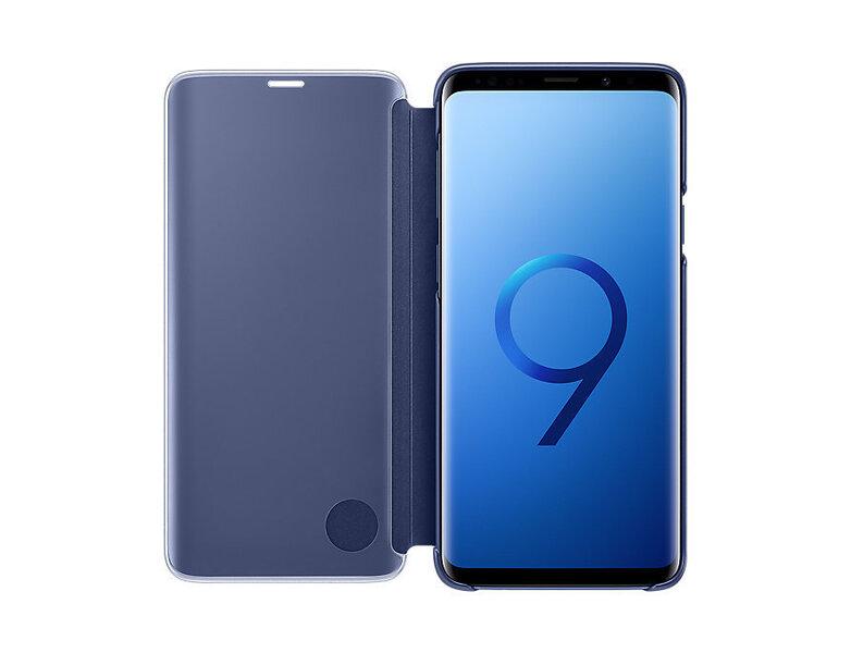 Kaitseümbris-alus Samsung Clear View EF-ZG965CLEGWW sobib Samsung Galaxy S9+ (G965), sinine