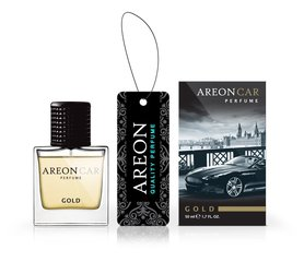 Auto õhuvärskendaja AREON CAR PERFUME 50ml - Gold