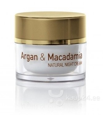 Öökreem Natural Cosmetic Argan & Macadamia 50 ml цена и информация | Näokreemid | kaup24.ee