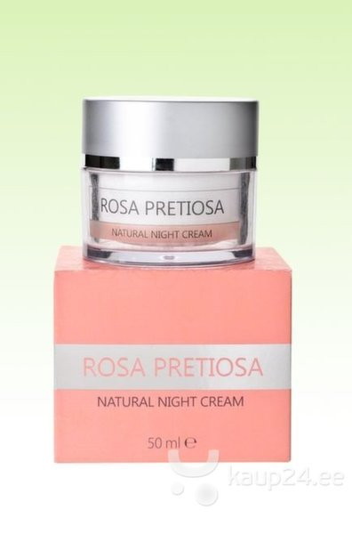 Öökreem Natural Cosmetic Rosa Pretiosa 50 ml