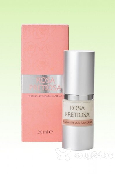 Silmaümbruskreem Natural Cosmetic Rosa Pretiosa 20 ml цена и информация | Silmaümbruse hooldustooted | kaup24.ee
