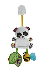 Riputatav mänguasi Fisher Price Panda peegliga hind ja info | Riputatav mänguasi Fisher Price Panda peegliga | kaup24.ee