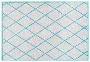 Uksematt Hanse Home Home Grey/Blue, 50x150 cm