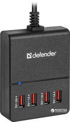 Adapter-laadija DEFENDER AC line adapter UPA-40 4 ports USB 5V / 5A