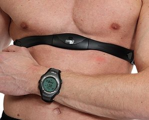 Pulsikell ja rinnarihm Christopeit Pulse Watch Pulse + Wireless Belt