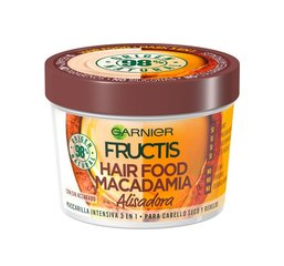 Juuksemask Garnier Fructis Hair Food Macadamia 3-in-1, 390ml  hind ja info | Juuksemask Garnier Fructis Hair Food Macadamia 3-in-1, 390ml  | kaup24.ee