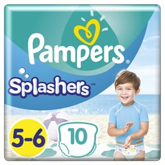 Mähkmed PAMPERS Pants Splashers, 5 suurus 14+ kg, 10 tk