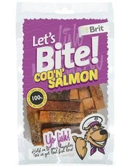 BRIT Lets Bite Cod & Salmon 80 г