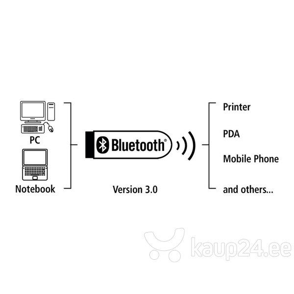 AdapterHamaBluetooth USB Adapter, versioon 4.0 C2 + EDR, must