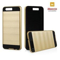Kaitseümbris Mocco Motomo Defender Super Protection Back Case, sobib Huawei P10 telefonile, kuldne