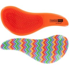 Juuksehari Cala Tangle Free Hair Brush Multi Zigzag