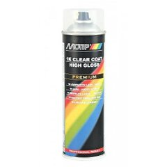 Professionaalne läikiv lakk Motip 1K Clear Coat High Gloss, 500 ml