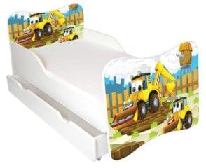 Voodi Ami 38 koos madratsi 140x70cm ja voodipesukastiga