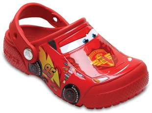 Poiste jalanõud Crocs™ Fun Lab Cars Clog, Flame